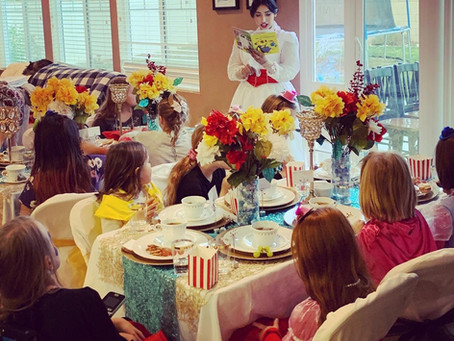 Curious Kids? TEA PARTIES are the Package for You!