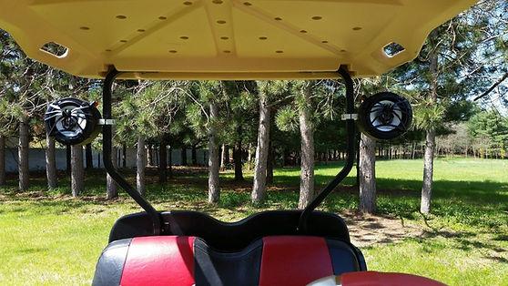 Custom Golf Cart Speakers