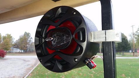 Golf Cart Speaker Pods