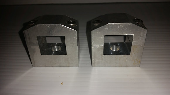 "Golf Cart 1"" Roof Supports Speaker Pod Clamps"