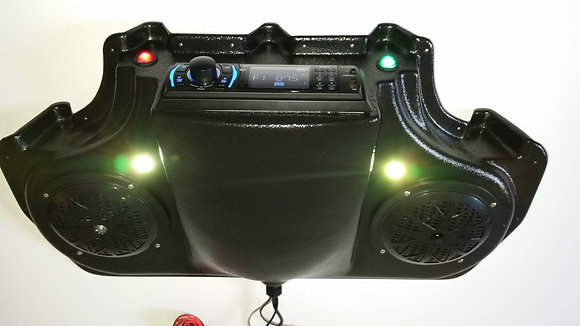 EZGO RXV GOLF CART STEREO RADIO ROOF MOUNT Console