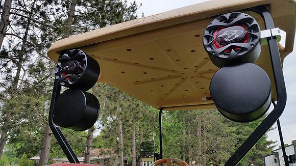 Golf Cart Bi-Directional Speaker Pods