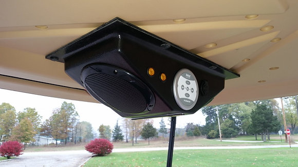 UTV Golf Cart Overhead Bluetooth Console with USB,