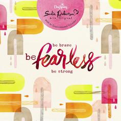 Be Fearless Wall Calendar