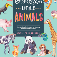 Drawing & Painting Expressive Little Animals