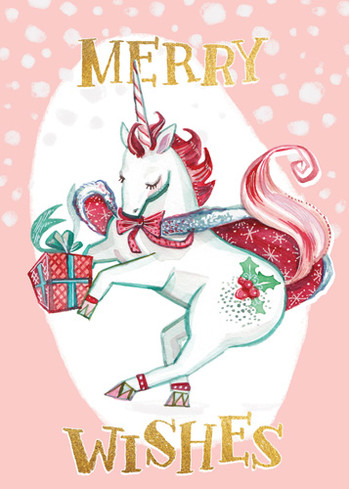 Christmas Unicorn 5x7 card.jpg