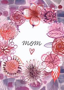 VioPink Wreath MOM card.jpg