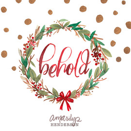 Behold Christmas Wreath.jpg