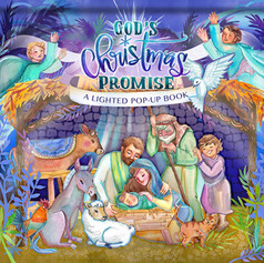 God's Christmas Promise Lighted Pop-Up Book
