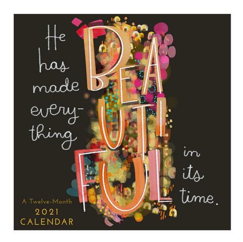 2021 Watercolor Devo Calendar