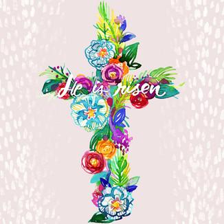 He is Risen Blossoming Cross.jpg