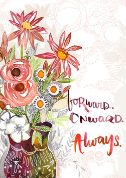 Autumn Wild Floral in Vase Greeting Encouragment.jpg