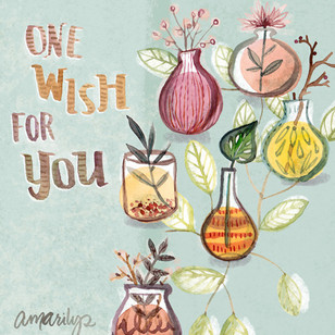 One wish for you 5x7 card sq.jpg