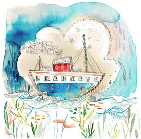 Tiny Ship cute watercolor charcoal.jpg