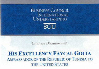 Fayçal Gouia Roundtable Discussion