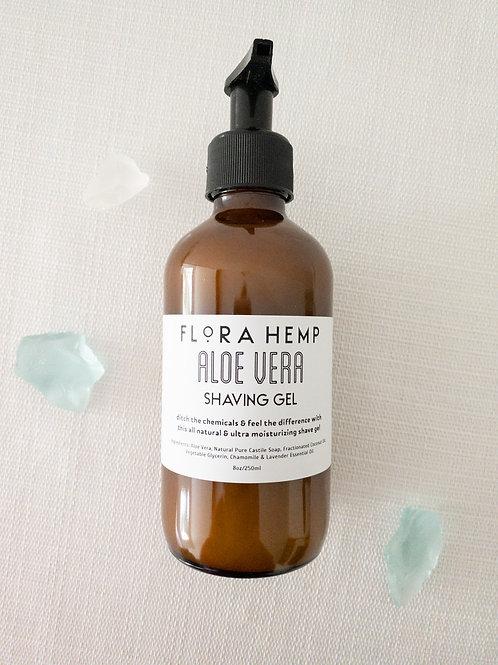 Aloe vera shaving gel 8 oz