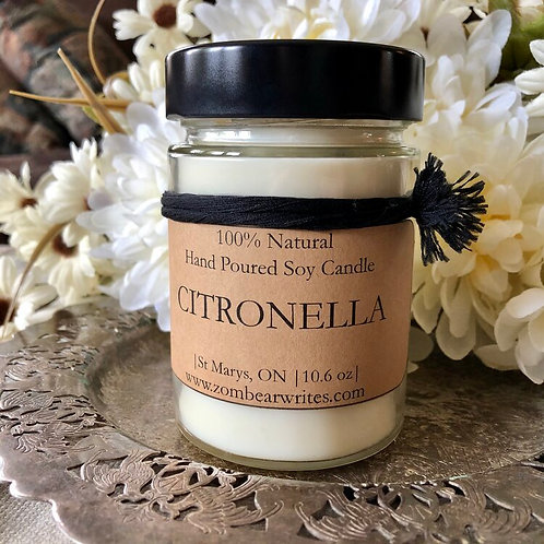 Citronella Candles 3.5 oz or 10.6 oz