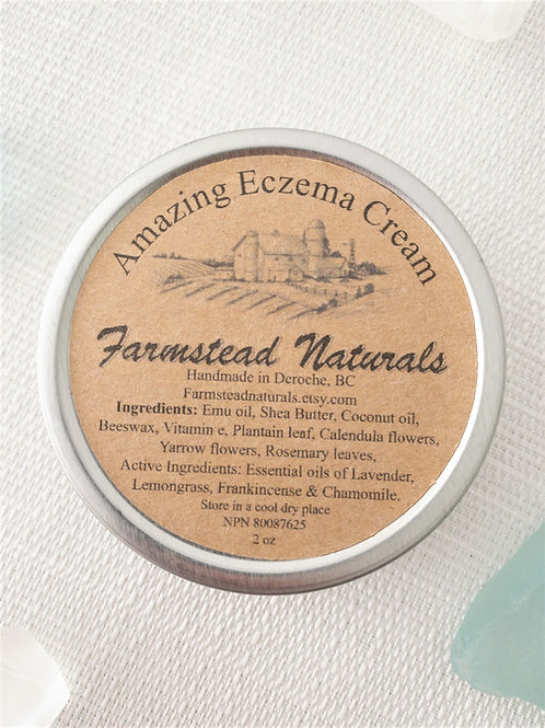 Amazing Eczema Cream 2 oz