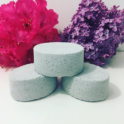 Muscle & joint relief natural bath bomb with activated charcoal 3 oz
