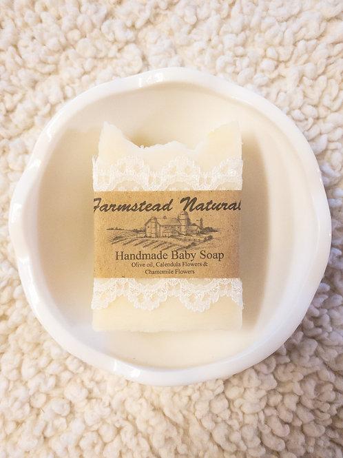 Baby/sensitive skin soap bar (Pure Castile Soap) 3.5 oz
