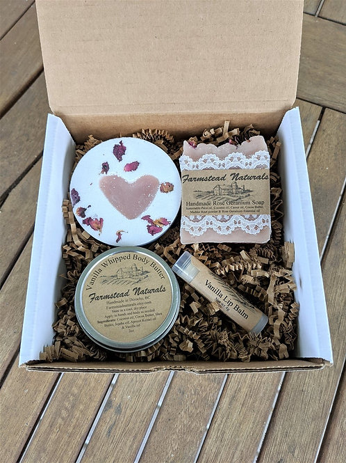 Spa gift box (4 products)