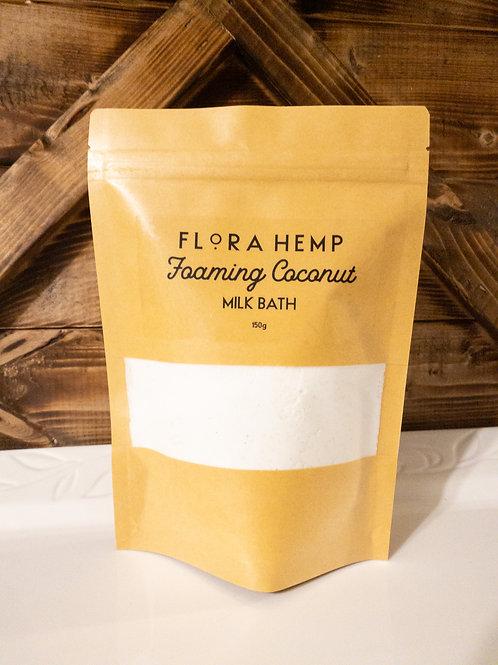 Foaming coconut milk bath 3.5 oz or 5.2 oz
