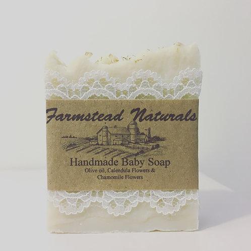 Baby Soap bar (Pure Castile Soap) 3.5 oz