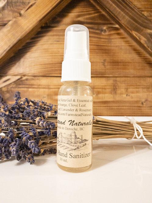 Natural Herbal Hand Sanitizer 1 oz, 4 oz or 17.5 oz