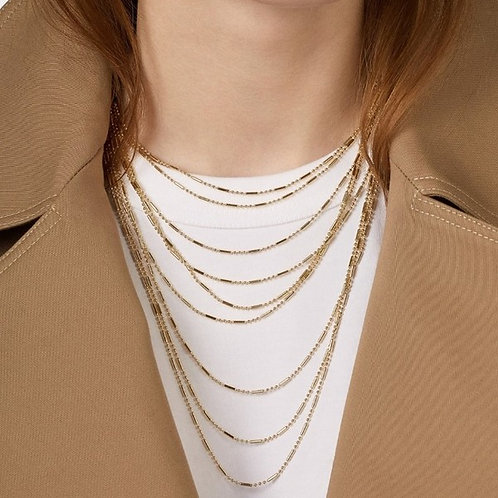 9 Layered Necklace