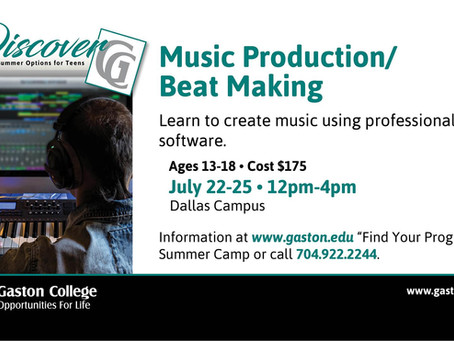 Music Production/Beat Making - Gaston College