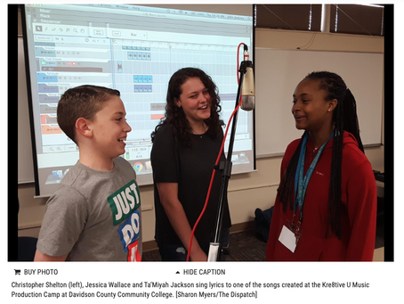 Music production camp teaches more than songwriting