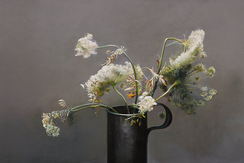 Cow Parsley and Pewter (signed print)