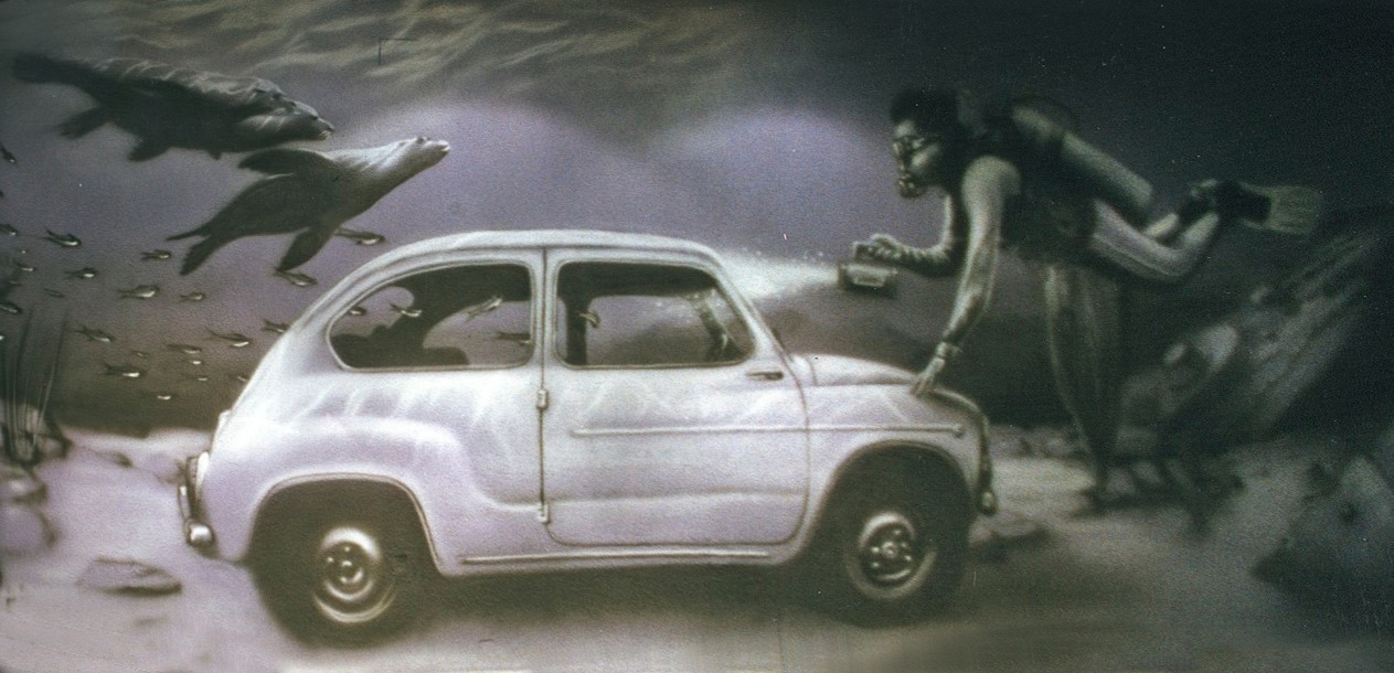 Fiat 600 Bar