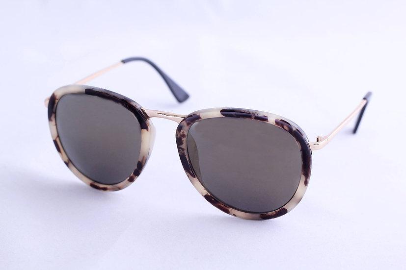 Pilot Aviator Roundtop Frames 70s 60s sunglasses Turtoise