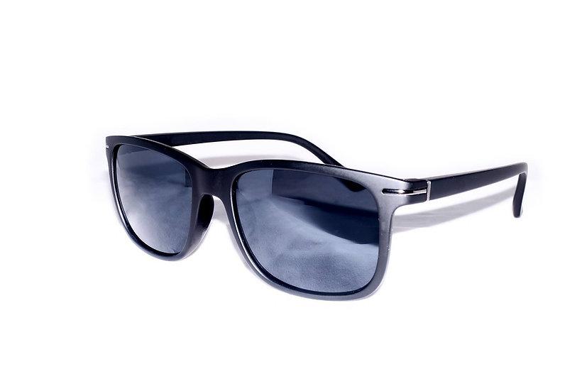 Wayfarer small squared frame 60s 70s sunglasses black