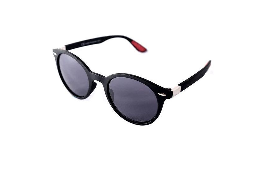 Wayfarer round frame unisex sunglasses 80s 70s black