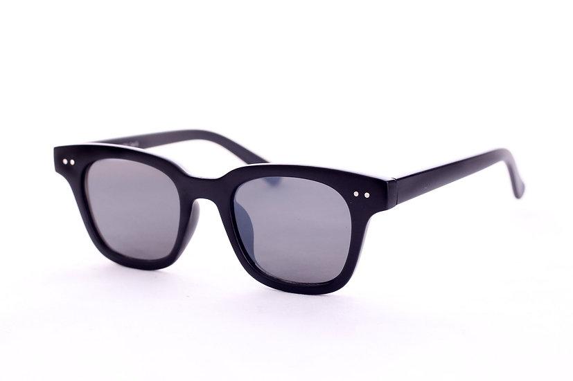 Wayfarer Squared Nerd Lens 60s 70s 80s sunglasses  black