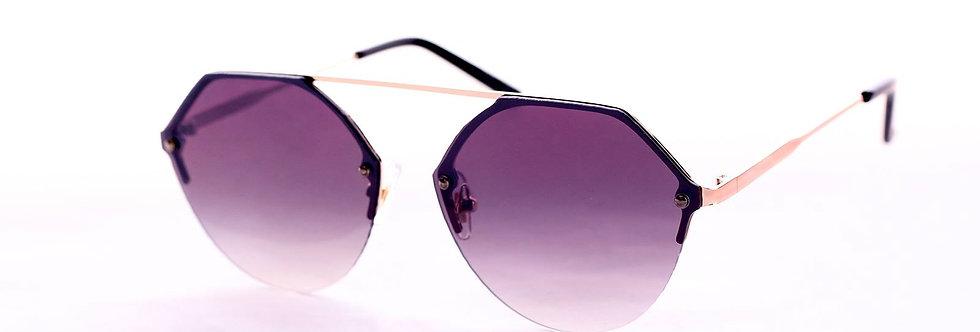70s Special Lenses Aviator Round Sunglasses