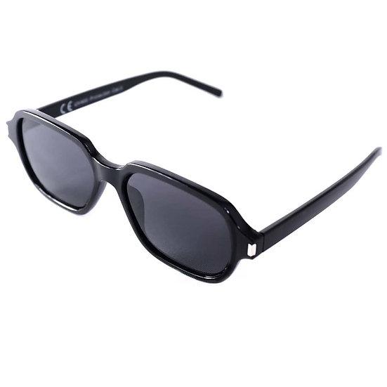 Squared Frame Trendy  Sunglasses for Men 70s 80s black