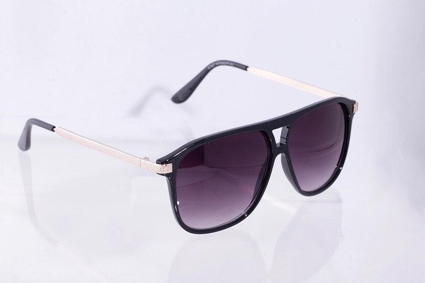 Original Squared Frames Pilot 1960 sunglasses Black