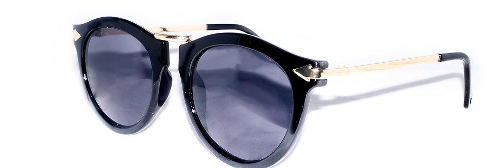 Black-gold-Retro-round-80s-sunglasses