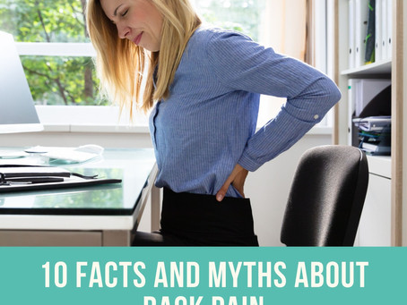 10 Facts and Myths about Back Pain