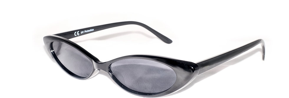 1960s Small Slim Eye-cat sunglasses