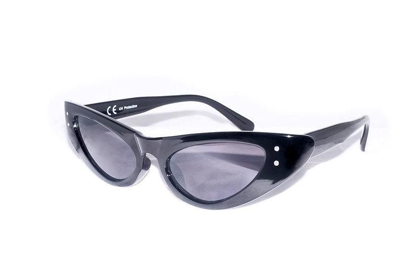 Eye cat Oval Frame 50s 60s 70s Retro Sunglasses