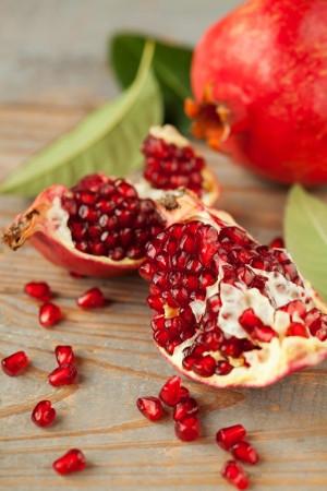 Pomegranates Fall Fruits