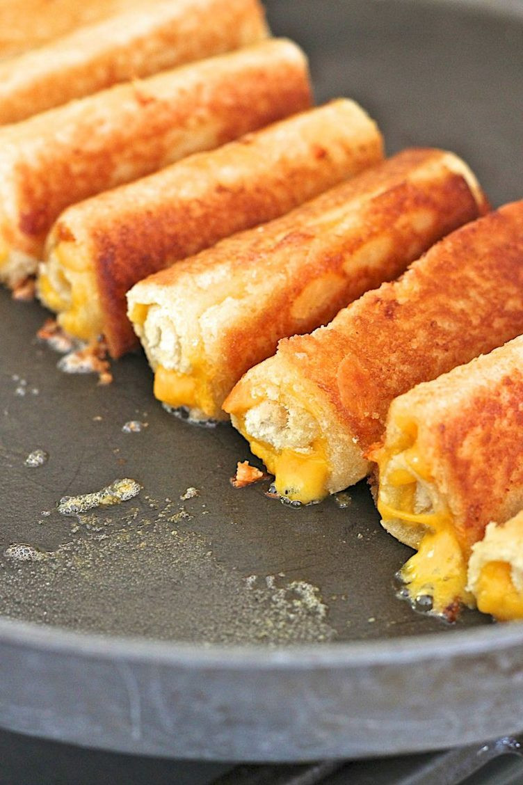 Grilled Cheese Strips
