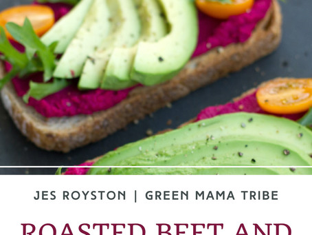 Roasted Beet and Carrot Hummus