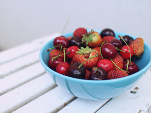 Red, White + Blueberries (For Sun Health)
