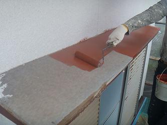 塗装リフォーム専門店のグッドリフォーム塗替え施工の様子
