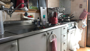 キッチンと洗面化粧台取り換え工事